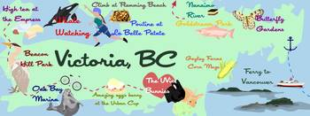 Victoria, British Columbia by Leila Bridgeman