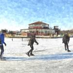 """Ice Skaters"" by BillKret"