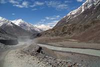 Dusty Road in Lahaul Valley