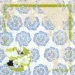 """Chinese Damask Crackled Wallpaper"" by floppypoppygifts"