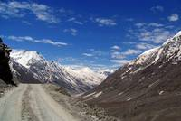 On the Road in Lahaul Valley