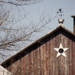 """Wisconsin barn with star window"" by Anewsgal"