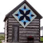 """A quilt pattern as barn art"" by Anewsgal"