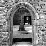 """Corcomroe Abbey 4 (b/w)"" by StevenHorst"