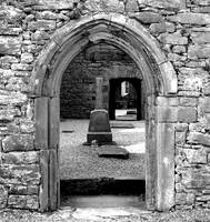 Corcomroe Abbey 4 (b/w)