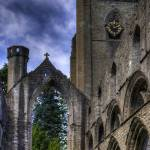 """""""Ruined Nave and Tower"""" by TomGomez"""