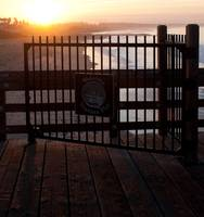 Ventura Pier Gate Sunrise