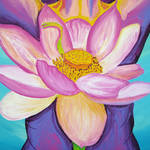 """Opening - detail, lotus"" by sondrasula"