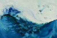 Tempest. Big Painting Modern Abstract