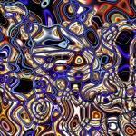 """Mechanical Fluidity Abstract - 07"" by WallArtDeco"