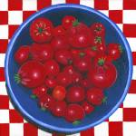 """bowl of cherries (tomato)"" by StrandStudio"