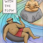 """Go With The Flow"" by SherylKaras"