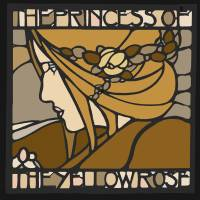 Princess of the Yellow Rose Art Prints & Posters by Gavin Wilson
