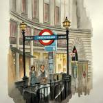 """London Subway"" by Ambika"