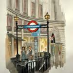 """""""London Subway"""" by Ambika"""