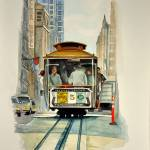 """Cable Car - San Francisco"" by Ambika"