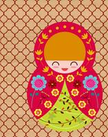 Russian Matryoshka Doll Number 2