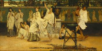 Bacchanal by Sir Lawrence Alma-Tadema