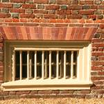 """Barred Window at Shirley Plantation"" by DonnaCorless"