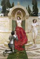 In the Venusburg by John Collier