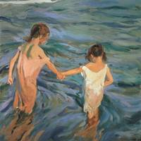 Children in the Sea by Joaquin Sorolla y Bastida