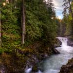 """Little Qualicum Falls"" by DGuindon"