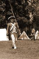 Redcoat with Rifle sepia