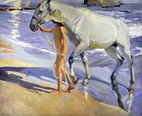 Washing the Horse by Joaquin Sorolla y Bastida