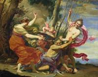 Time Overcome by Youth and Beauty by Simon Vouet