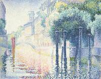 Rio San Trovaso, Venice by Henri-Edmond Cross