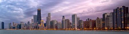 Chicago at Blue Hour