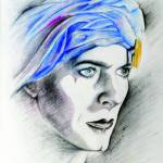 """David Bowie Portrait"" by SuSu"