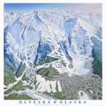"""""""Alyeska Ski Resort, Alaska"""" by jamesniehuesmaps"""
