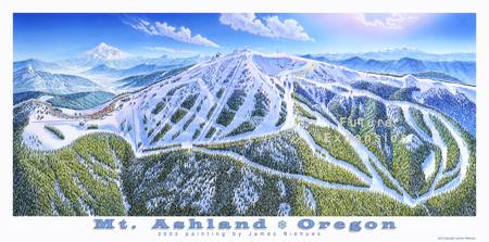 Mt. Ashland Ski Resort, Oregon