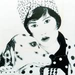 """Lady with Dalmatian"" by SuSu"