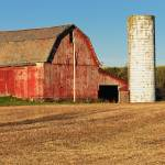 """Red Barn and Silo"" by StonePhotos"