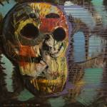 """Skull,death,dark,modern,contemporary,art,painting,"" by ziemowitfincek"