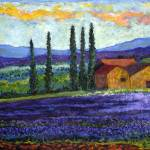 """Provence with Lavender"" by ShackPaintings"