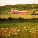 """Vermont Fields and Flowers"" by ShackPaintings"