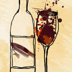 """Sparkling wine"" by Aneri"