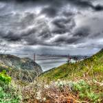 """Fish Eye view from the Marin Headlands"" by agroth"