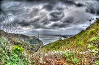 Fish Eye view from the Marin Headlands