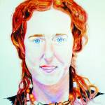 """Natasha Evans Portrait"" by SuSu"