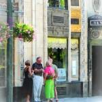 """""""Asheville NC - Meet Me at the S&W"""" by susansartgallery"""