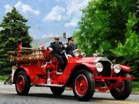 Old Fashioned Fire Engine
