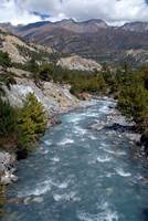 River en route to Manang