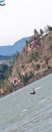 Parasailor at Hood River