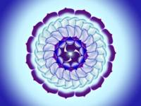 Purple & Blue Mandala Kaleidoscope