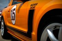 2007 Orange Mustang Saleen Boss 302