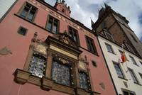 Buildings and Astronomical Clock, Prague